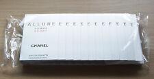 Chanel Allure Homme Sport sealed pack of 12 samples eau de toilette 12x1.5ml