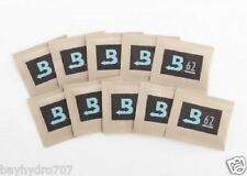 10 Pack Boveda RH 62% 8 Gram Humidity 2 Way Control Humidor SAVE $$ W/ BAY HYDRO