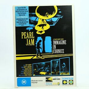 Pearl Jam Immagine In Cornice DVD Music Rock Good Condition Free Tracked Post