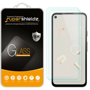 [2-Pack] Supershieldz Tempered Glass Screen Protector for Google Pixel 4a