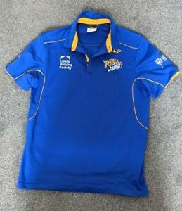 ISC Leeds Rhinos Polo shirt Small S