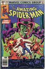 The Amazing Spider-Man #207 ~ Final Curtain For Spider-Man ~ (9.2) WH