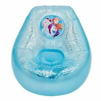 Frozen  Inflatable Glitter Chill Chair, Blue/White, Kids Room