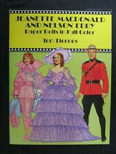 Vintage Paper Doll Book - Jeanette Macdonald and Nelson Eddy Tom Tierney Color