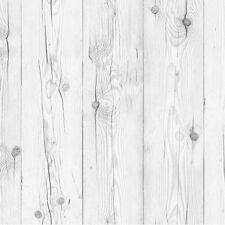 Contact Paper White Wash Wood Effect Wallpaper Self Adhesive Plank Boards Sheets