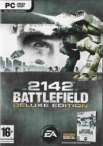 Battlefield 2142 Deluxe Edition  (PC DVD) NEW