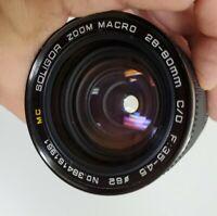 Soligor Zoom Macro 28-80mm F: 3.5-4.5 C/FD Lens