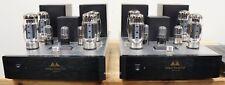 Antique Sound Labs Monsoon tube monoblocks. 100W, KT-120 based. $4,000 MSRP