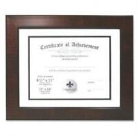 LawrenceFrames 187011 11 x 14 in. Certificate Picture Frame Walnut