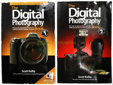 Digital Photography Book 1 & 2 - Scott Kelby - 2 books. English.