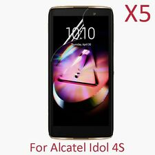 """5X PET Soft HD Screen Protector Film For Alcatel OneTouch Idol 4S 5.5"""""""