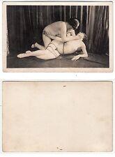 Nackte Frauen in Ketten Sado Maso Chain Lady Girl nude Bondage c.1920 Lesbian /2
