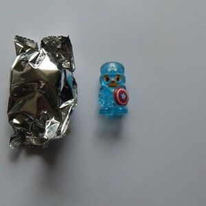 NEW ~ MARVEL OOSHIES ~ LIMITED EDITION ~ CRYSTAL BLUE CAPTAIN AMERICA ~ SERIES 2