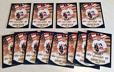 Lot of 12 - Jameson Taillon #84 2013 Panini USA Champions Rc Rookie Pirates