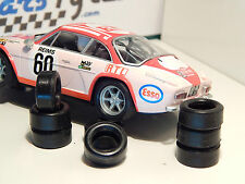 8 tires for Alpine Renault SCX 1/32 - UK