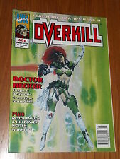 OVERKILL #15 MARVEL BRITISH MAGAZINE 6 NOVEMBER 1992 DEATHS HEAD II MOTORMOUTH^