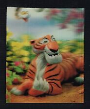 Walt Disney Prod Disneyland Lenticular Shere Khan KAA 1966 WC Jones FREE Ship