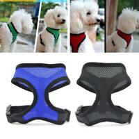 Mesh Harness Pet Control for Dog & Cat Soft Walk Collar Safety Straps Vest Puppy