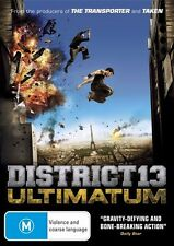D25 BRAND NEW SEALED District 13 - Ultimatum (DVD,2011)The Transporter & Taken