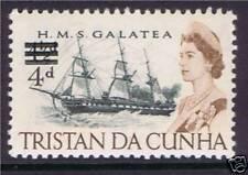 Tristan da Cunha 1967 4d Overprint Definitive SG108 MNH