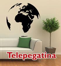 VINILO DECORATIVO PARED MAPA MUNDIAL 65x65 MAPAMUNDI WORLD MAP WALL STICKER