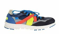 NEW $420 DOLCE & GABBANA Shoes Sneakers Multicolor Leather Sport EU41.5 / US8.5