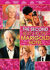 THE SECOND BEST EXOTIC MARIGOLD HOTEL (DVD, 2015) - NEW DVD