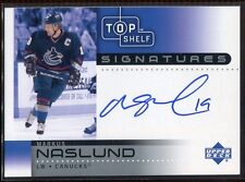 2002-03 UD Top Shelf Signatures MN Markus Naslund Auto