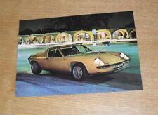 Lotus Paper 1971 Sales Car Brochures