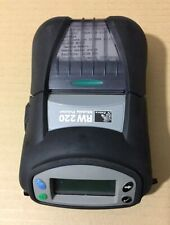 "Zebra RW220 R2A-0UBA000E-00 Thermal Receipt Label Bill Bluetooth BT 2"" Printer"