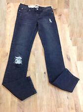 Hudson Kids Boys Black Jeans, Size 14