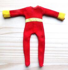 "1974 DC COMICS 8"" mego wgsh figure -- SHAZAM -- Red SUIT with Yellow Belt es"