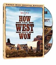 How the West Was Won (DVD, 2008, 3-Disc Set, Special Edition) John Wayne NEW