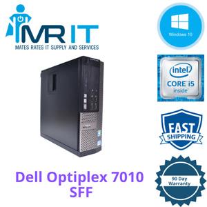 Dell OptiPlex 7010 SFF, Intel Core i5-3470 @ 3.20GHz, 250GB HDD, 4GB RAM, Win10