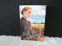2009 A Promise For Spring By Kim Vogel Sawyer, Romantic Novel, Paperback Book