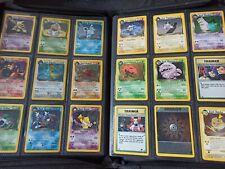 Pokemon Team Rocket Complete Set - MINT 83/82 Cards - WOTC - Charizard,Blastoise