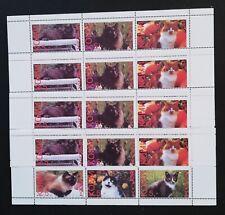 Komi ( Local Post,Russia )-Cats-1998-4x1M/Sh.-MNH,PLR 227A