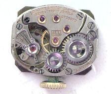 Antique LONGINES Women's Wrist Watch Movement 17j Working  #P344