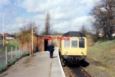 PHOTO  1989 ROSE HILL (MARPLE) RAILWAY STATION TAKEN FROM THE BUFFER STOPS AT TH