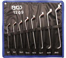Jeu de Clés polygonales BGS Coudées 6x7-20x22 mm - 8 Pièces