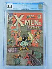 Marvel X-Men #20 CGC 3.5 1966 Lucifer Blob & Unus appearance