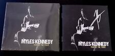 """MYLES KENNEDY- AUTOGRAPHED """"YEAR OF THE TIGER"""" SIGNED CD BOOKLET & NEW SEALED CD"""