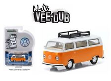 GREENLIGHT 1:64 CLUB V-DUB 1974 VOLKSWAGEN TYPE 2 BUS ROOF RACK TWO-TONE 29820-E