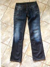 PEPE Damen Jeans Low Cut 28/32 USED