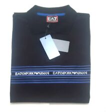 NEW  MENS EMPORIO ARMANI BLACK  POLO  T-SHIRT SIZE XXL