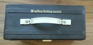 Milbro Fishing Tackle Box, Vintage Cantilever