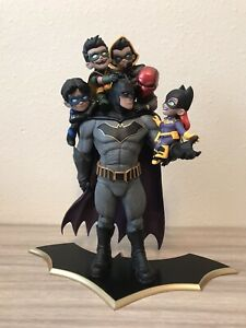 "QMX Q-master batman family statue 15"" - mint condition"