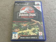 PlayStation 2 Game JURASSIC PARK Operation Genesis Complete /Rare