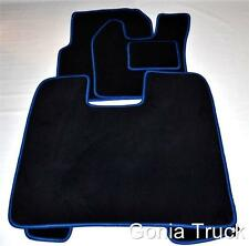 Engine Cover and Floor Mats for SCANIA ~R~ 2005-09  AUTOMATIC  in BLUE