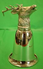 Gucci c70s Stag Antler Stirrup Cup